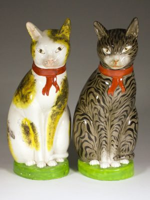 Staffordshire_Pottery_Cats_1835_1